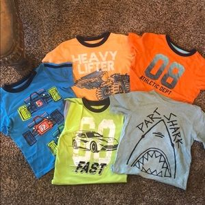 Other - Set of 5 boys t-shirts